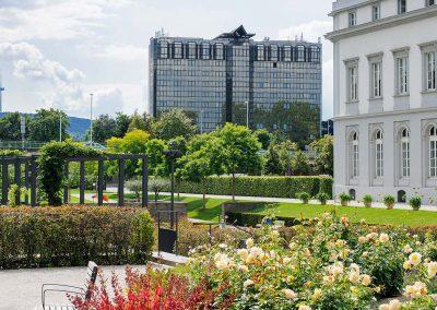 Mercure Hotel Koblenz Aussenansicht Schlossgarten2